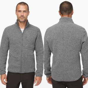 Lululemon Tundra Sherpa Fleece Jacket Grey XL Mens